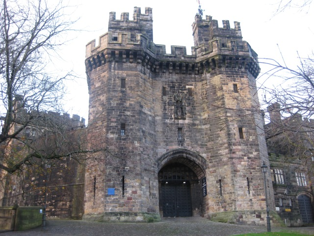 Ghostly Setting: Lancaster Castle, the inspiration for Joseph Delaney's latest novella (Photo copyright: writewyattuk)
