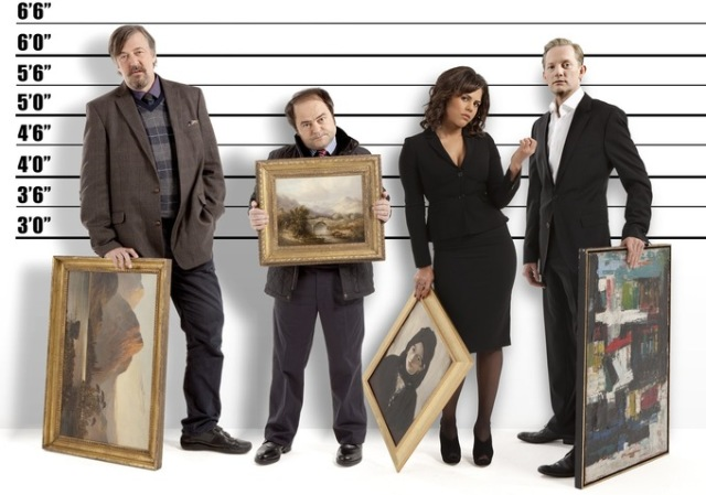 Early Doors: Stephen Fry, Kenneth Collard, Lenora Crichlow and Dougie Henshall in Doors Open
