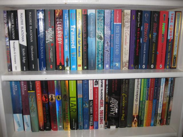 Shelf Control: A glance along the writewyattuk children's book shelves