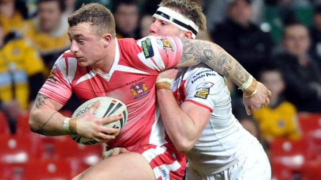 Rising Star: Josh Charnley's been on the radar a few years now (Pic: http://www.wiganwarriors.com)