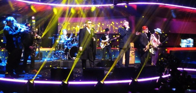 Lining Up: Madness playing Never Knew Your Name on ITV's Jonathan Ross Show