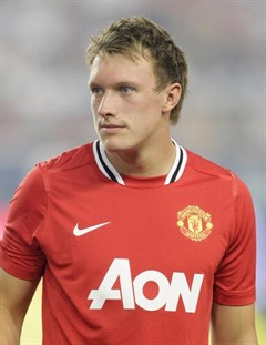 Leyland Lad: Phil Jones has reached the big time (Pic: http://www.manutd.com)