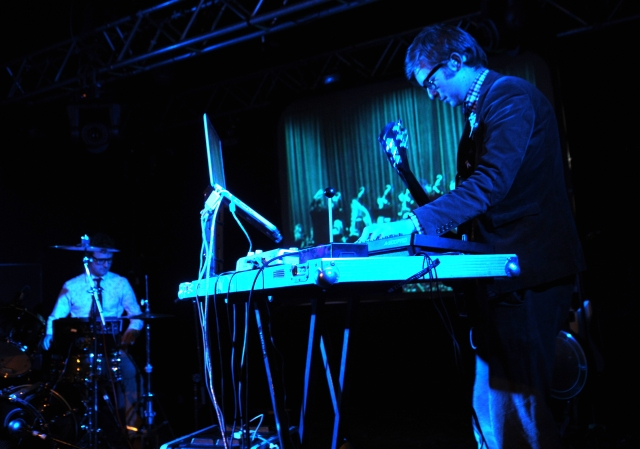 Synth Attack: Public Service Broadcasting at 53 Degrees (Photo courtesy of Donna Clifford)
