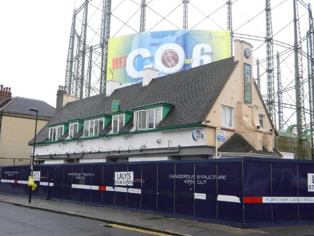 Long Gone: The Cricketers, Kennington, unfortunately no longer with us (Photo: Stephen Harris/http://www.closedpubs.co.uk/)