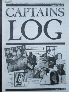 Early Days: The cover of the very first Captains Log magazine, including that 1986 Bruce Foxton interview