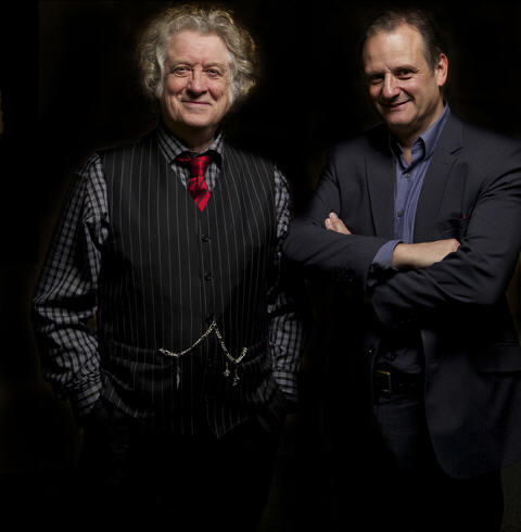 Dynamic Duo: Noddy and his assistant Mark at their recent audition for Dr Who