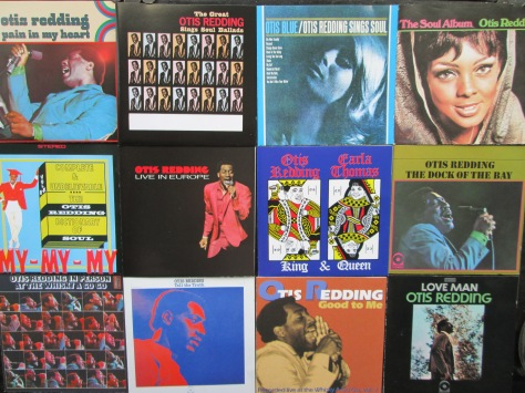 Stax of CDs: Part of the writewyattuk Otis Redding collection