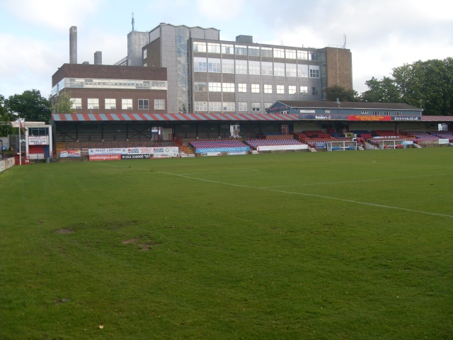 Recreation Station: Aldershot Town FC, Summer 2013 (Photo: writewyattuk)
