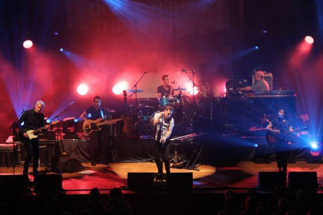 Preston Pride: Deacon Blue in full flow at the Guild Hall (Photo courtesy of the band's official Facebook page)