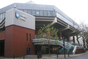 Worship Hall: Preston Guild Hall was upgraded ... at least for one night
