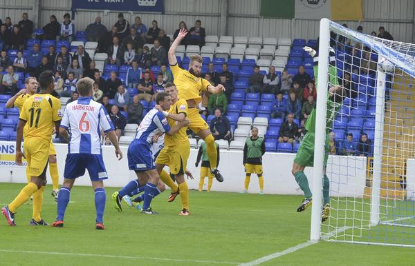 Beast Rising: Joe McNerney nets at Chester (Photo: David Holmes)
