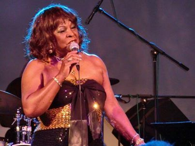 Heat Wave: Martha Reeves in action at Preston's 53 Degrees (Photo from her official Facebook page)
