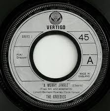 Jingle Bells: The Greedies' hit 45