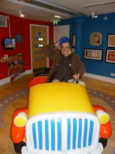 Noddy Older: The blogger passes through Toytown
