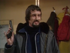 Who's That: John Challis as Scorby in the Doctor Who serial The Seeds of Doom in 1976 (Photo: BBC)