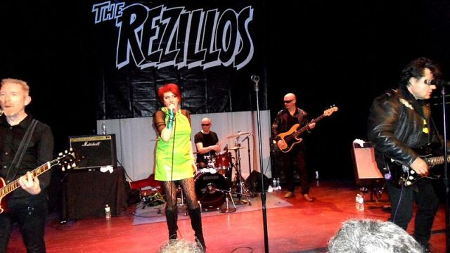 Destination UK: The Rezillos in live action