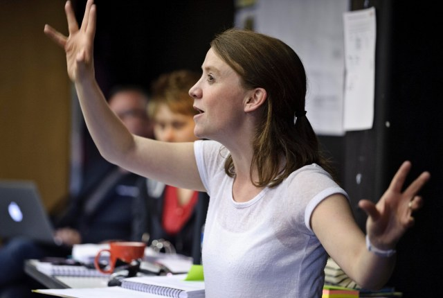 Direct Action: Amy Leach in rehearsal