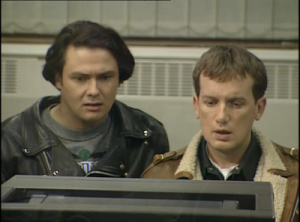 Blue Heaven: Conleth Hill and Frank Skinner in sitcom mode in 1994