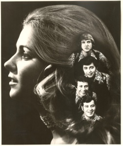 Publicity Shot: Artwork for the Swingin' Society from 1970 (Photo: Judy Street)