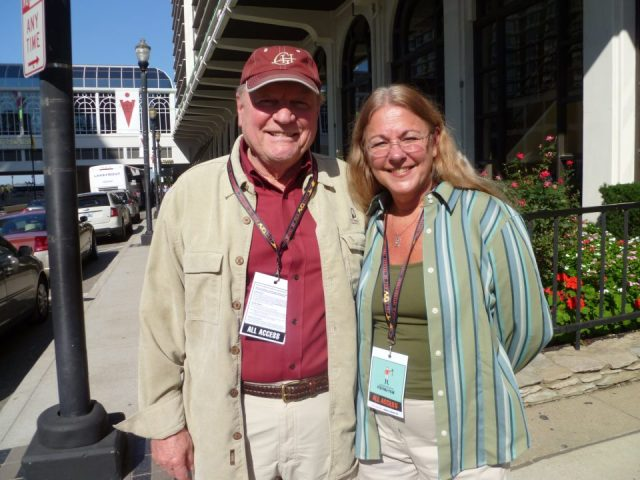 Star Status: Conrad Bachmann with Judy in 2011 in Kentucky (Photo: Judy Street)