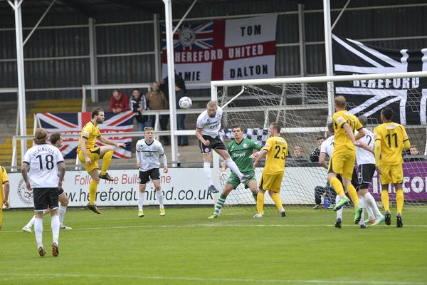 Bulls Hit: It could be a while before the Cards return to Edgar Street (Photo: David Holmes)