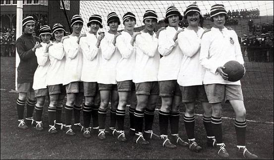 History Makers: The Dick, Kerr's Ladies in 1921