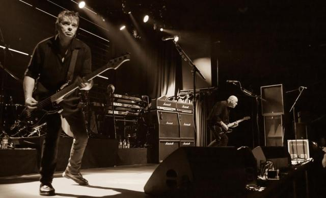 Burnel Side: The Stranglers, 2014 Style (Photo copyright: Warren Meadows)