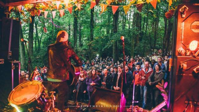 Woodland Vibe: Badly Drawn Boy at Festival No.6 last summer