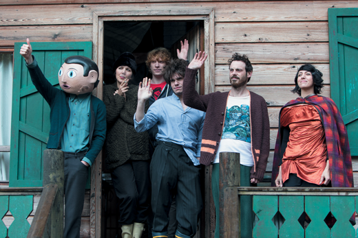 The Cast: The Frank personnel give us a wave (Photo: Element Pictures/Runaway Fridge Films/Jonathan Hession)