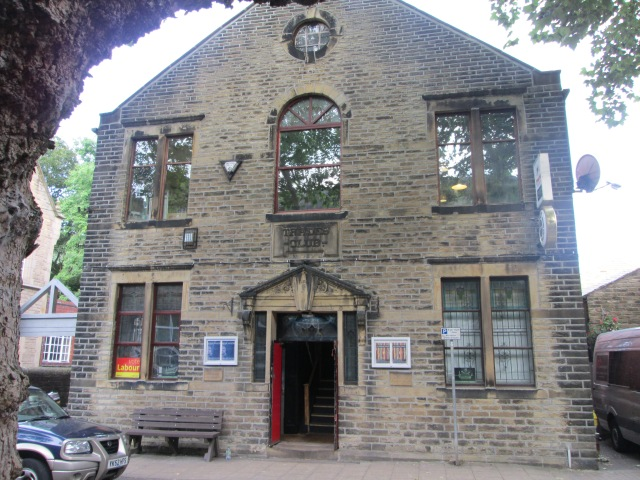 Valley Venue: Hebden Bridge's Trades Club (Photo: Malcolm Wyatt)