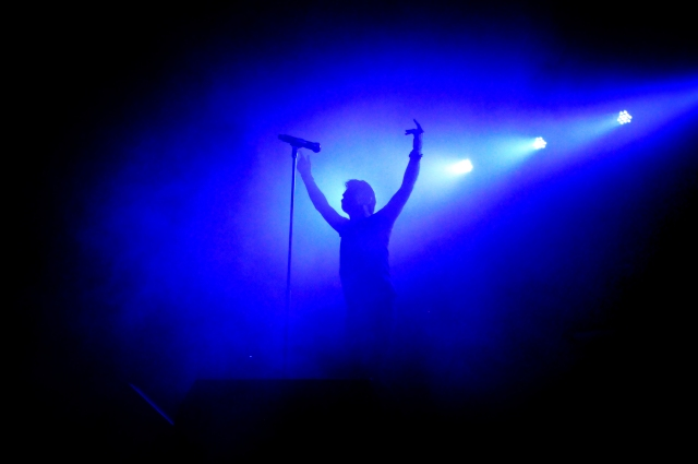 Dust Devil: Gary Numan at 53 Degrees (Photo copyright: Iain Lynn)