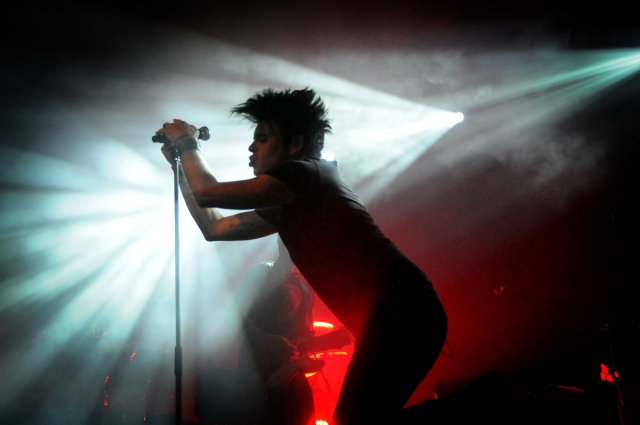 Pleasure Principal: Gary Numan at 53 Degrees (Photo copyright: Iain Lynn)