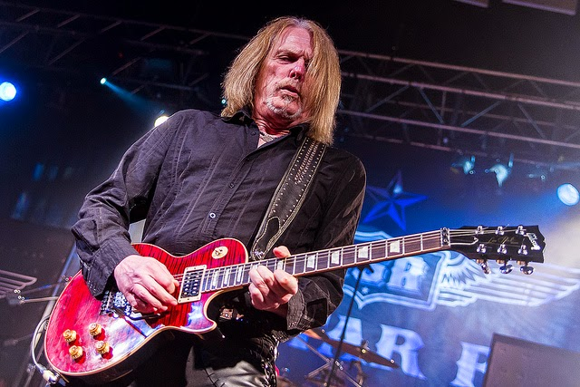 Great Scott: Thin Lizzy veteran rocker Scott Gorham