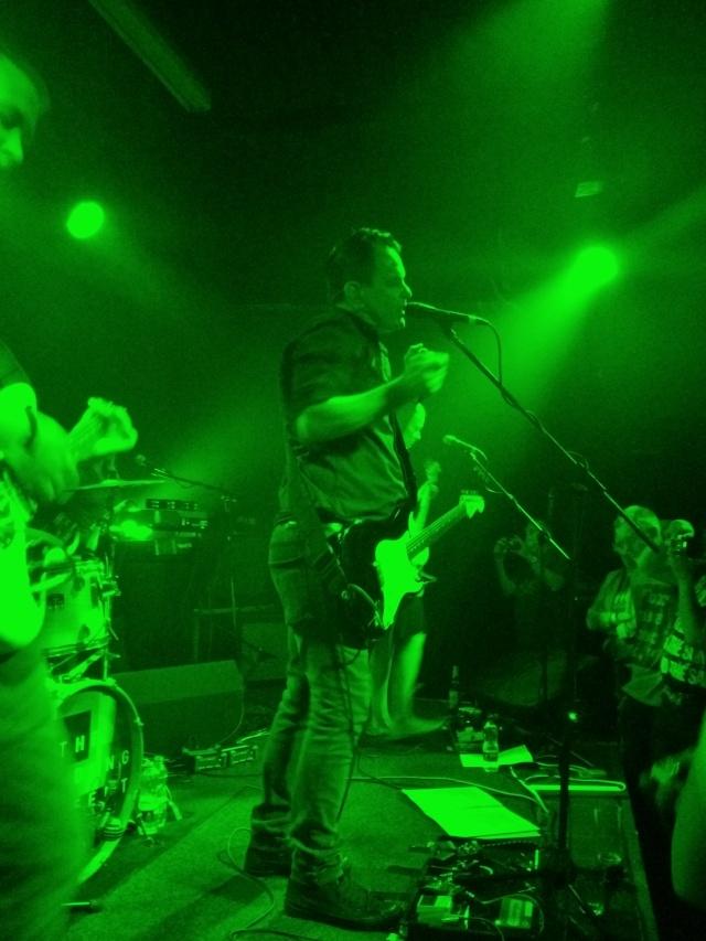 Green Scene: David Gedge in action at Hebden Bridge Trades Club