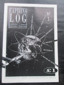 Star Date: The front cover of this blogger's Captain Log issue three (Photo: Malcolm Wyatt)
