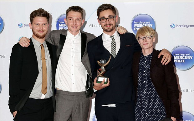 Mercury Win: alt-J, then a four-piece, after success with debut album An Awesome Wave