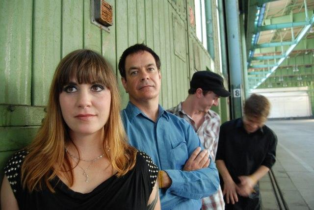 Valentina Days: From the left - Pepe le Moko, David Gedge, Charles Layton, Graeme Ramsay (Photo: http://www.scopitones.co.uk/)