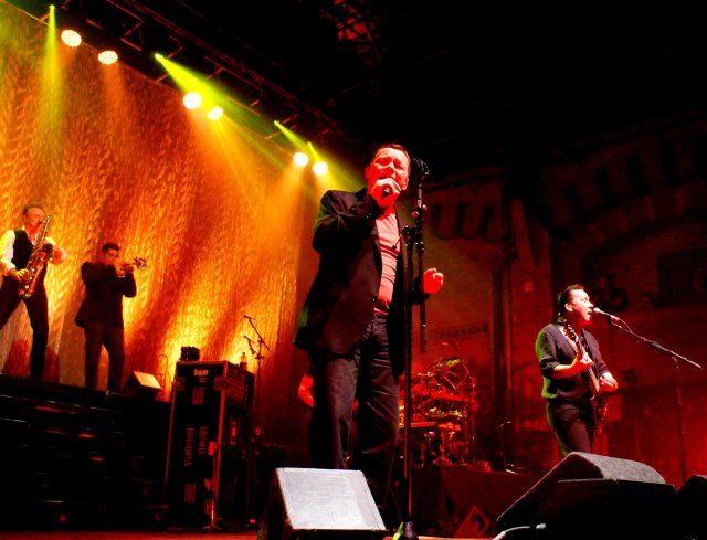 Live Renaissance: UB40 in concert, with Duncan Campbell out front (Photo: Martin Porter)