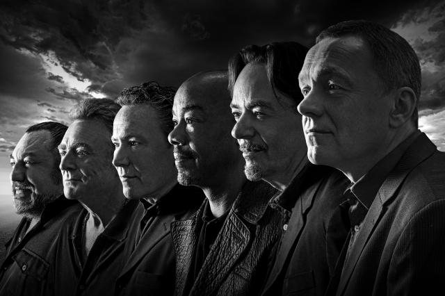 Present Army: And then there were six ... the current UB40 line-up
