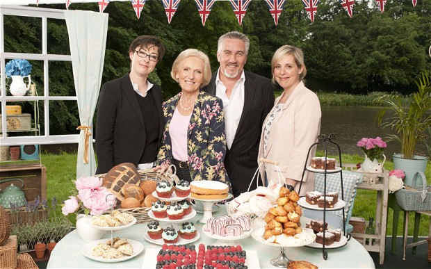 Awesome Foursome: Sue Perkins, Mary Berry, Paul Hollywood and Mel Giedroyc (Photo: BBC)
