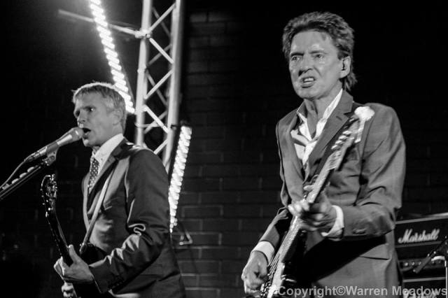 Angry Boys: Russ and Bruce at Chester Live Rooms (Photo: Warren Meadows)