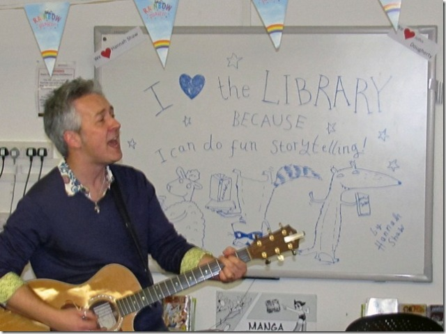 Library Love: John Dougherty adds his voice to the 'save the libraries' campaign