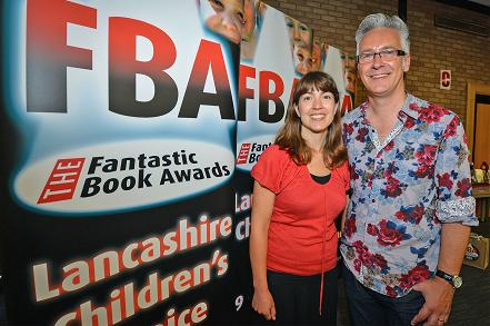 Fantastic Day: Emma Barnes and John Dougherty at the Fantastic Book Awards launch