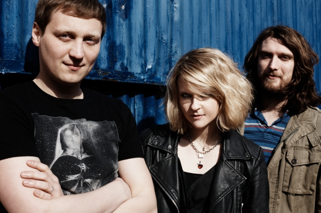 Underground Overground: The Subways. From the left: Billy Lunn, Charlotte Cooper, Josh Morgan