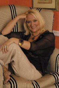 Good Life: Martina Cole enjoys a little time away from the keyboard