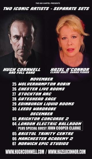 Hazel-OConnor-And-Hugh-Cornwell-On-Tour
