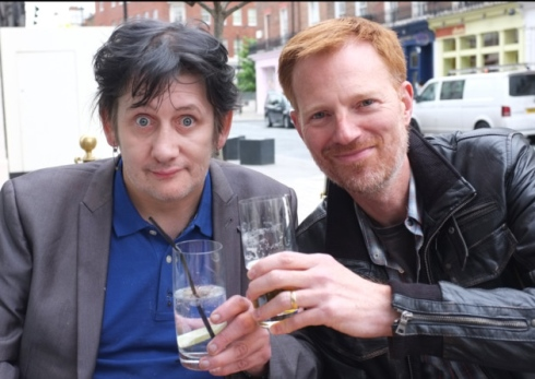 Glass Acts: Shane McGowan with Richard Balls