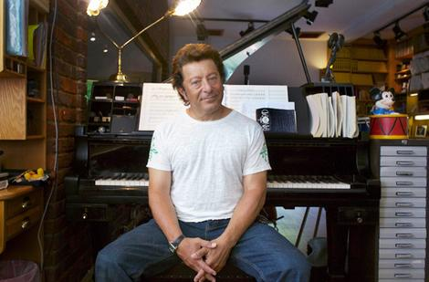 Studio Tan: Jeff Wayne takes a break at home in Hertfordshire (Photo: Wade Laube/ Sydney Morning Herald/Melbourne Age)