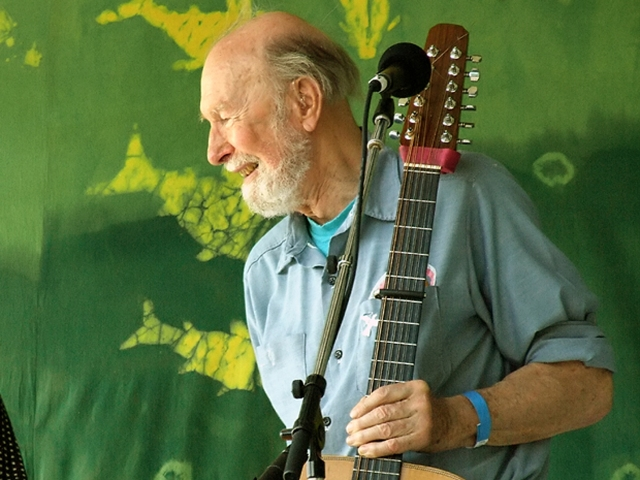 Music Legacy: Pete Seeger (Photo: Anthony Pepitone)