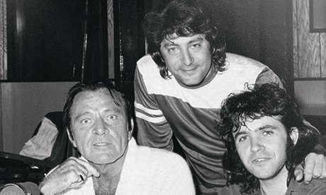 Vocal Performance: Richard Burton with Jeff Wayne and David Essex, at work on The War of the Worlds in 1978